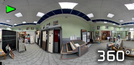 Virtueller Baumarkt der Firma Hein Mitwitz - 360° Panorama Rundgang